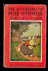 Hardcover The Adventures of Peter Cottontail Book