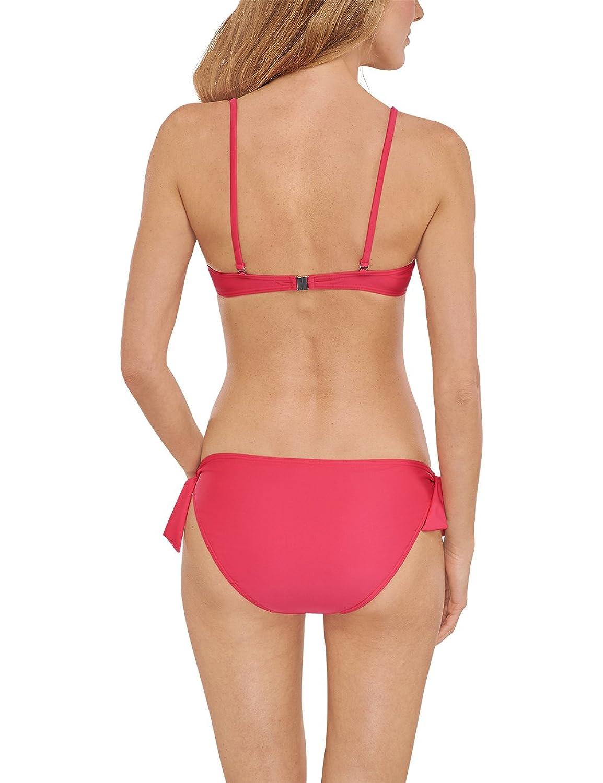 Schiesser Damen Bandeau Bikini-Set - Bikini/Mini, Gr. 38B, Rot (fuchsia 508):  Amazon.de: Bekleidung