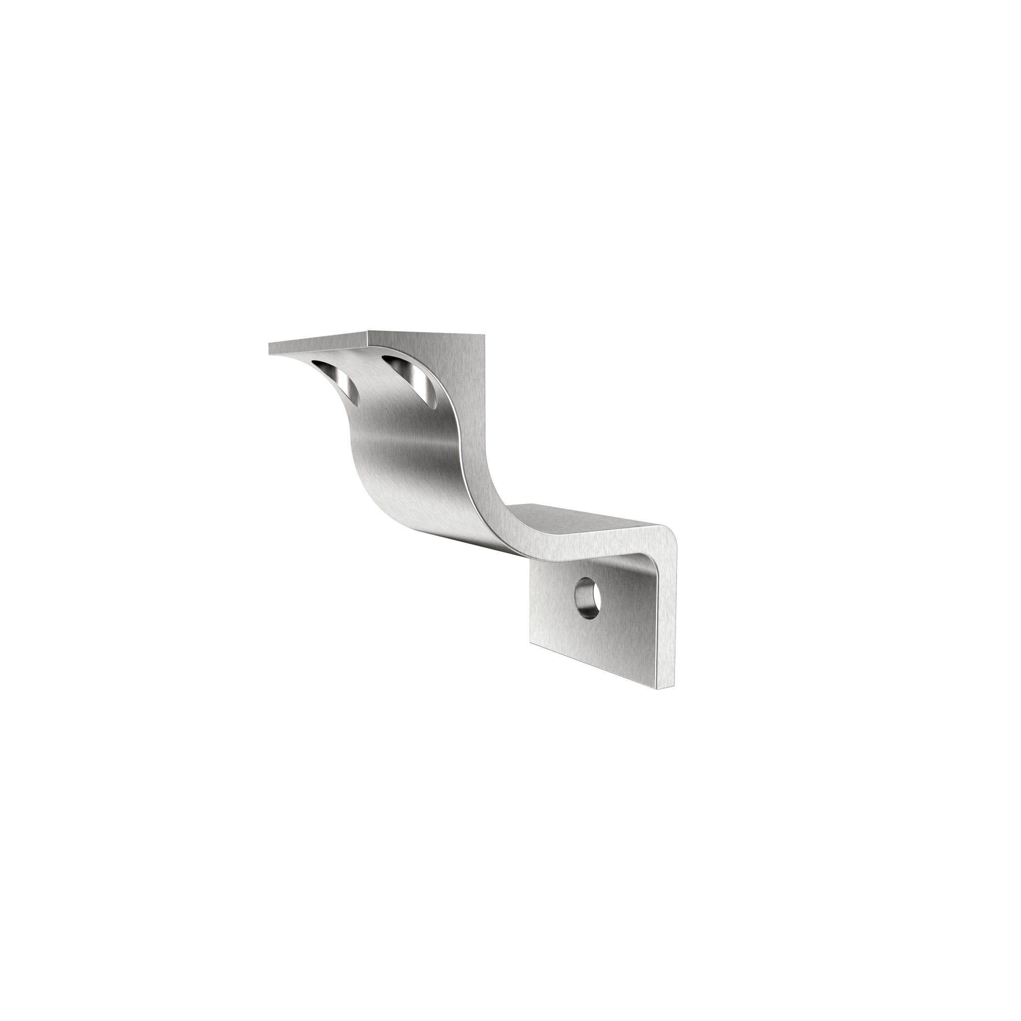 Inline Design Stainless Steel Handrail Wall Bracket Pulsar