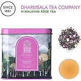 Himalayan Rose Tea | Pure Whole Tea Leaves with Natural Rose | Organic Certified Tea | Loose Leaf | 100 gm Tin | 50 Tea Cups