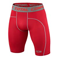 TCA Men's and Boy's Pro Performance Compression Base Layer Thermal Under Shorts