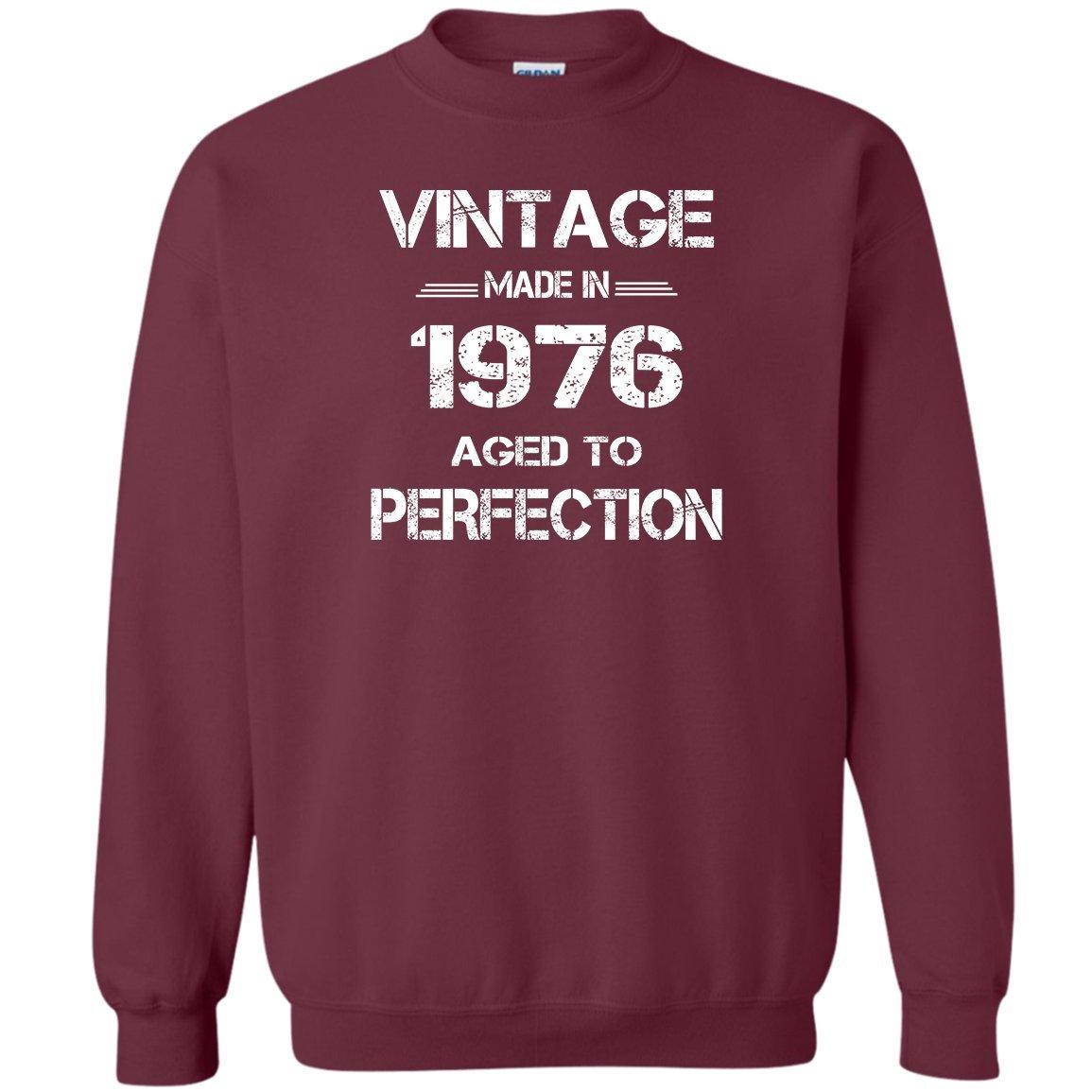 Kidoba Vintage Made In 1976 Aged To Perfect Shirt 1976 Vintage Sweatshirt