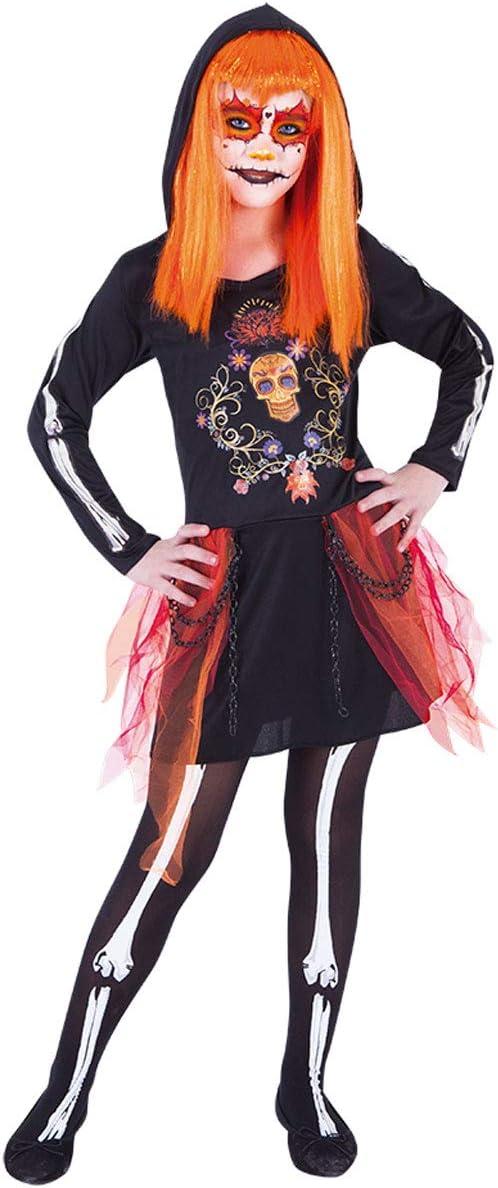 Rubies- Disfraz Muertita Dia De Los Muertos Inf, Multicolor, TW ...