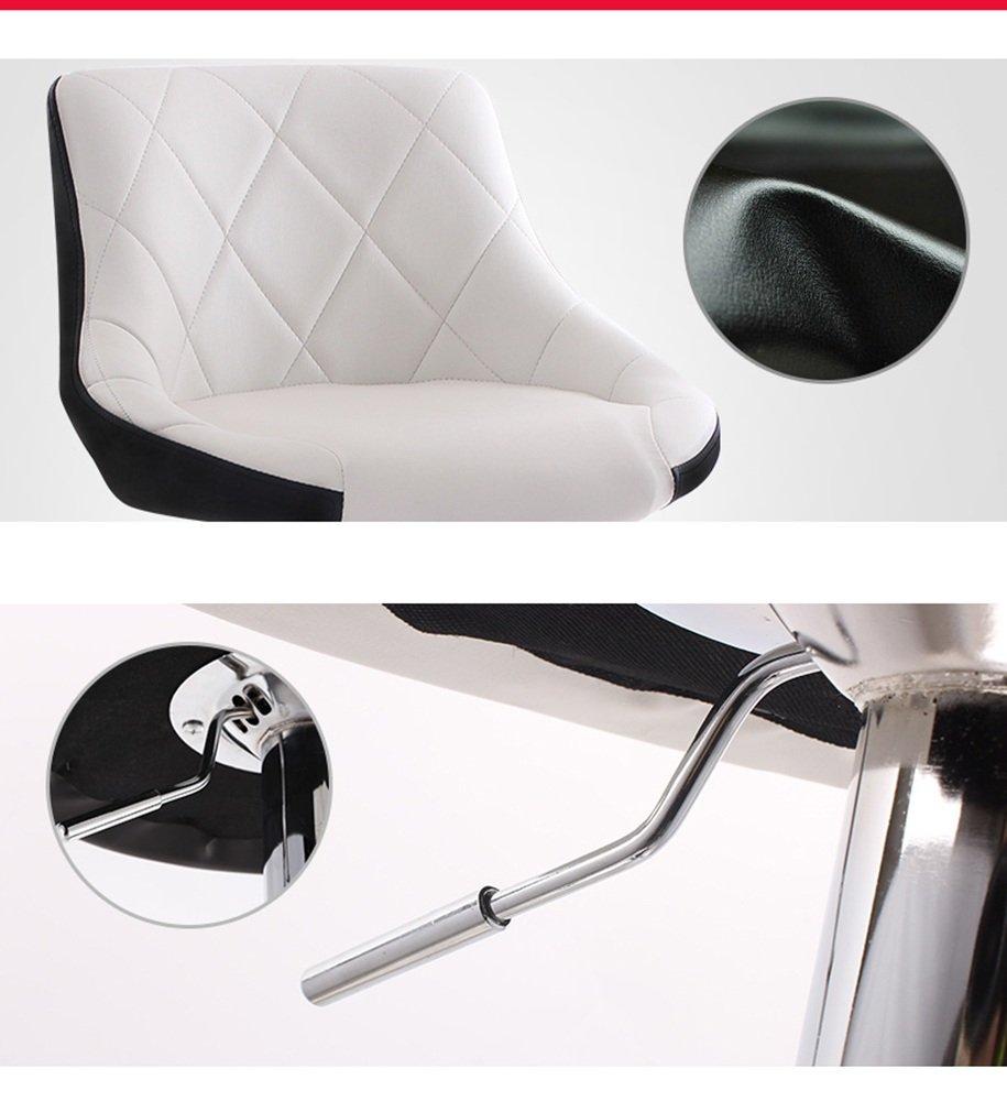 Stühle Europäischen Stil PU Kissen Kann Zwei-Farbe Rotierenden Bar Bar Bar Kreative Hochstuhl Europäischen Retro Barhocker (Farbe   F) B07DGWBGSL | Ich kann es nicht ablegen  e4e16a