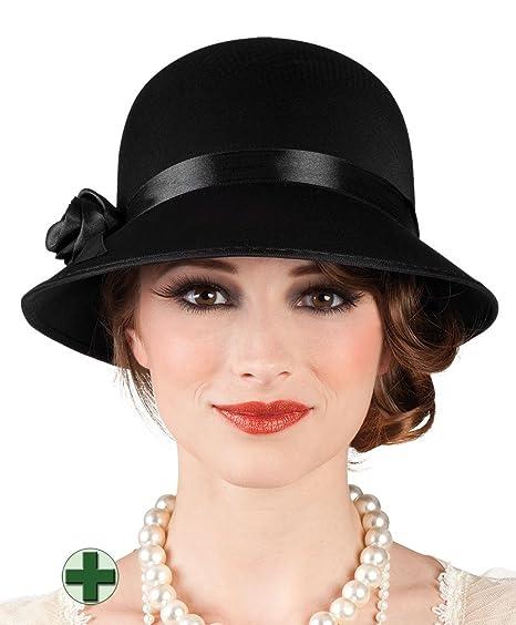 Boland - Sombrero para disfraz de adulto Charleston.