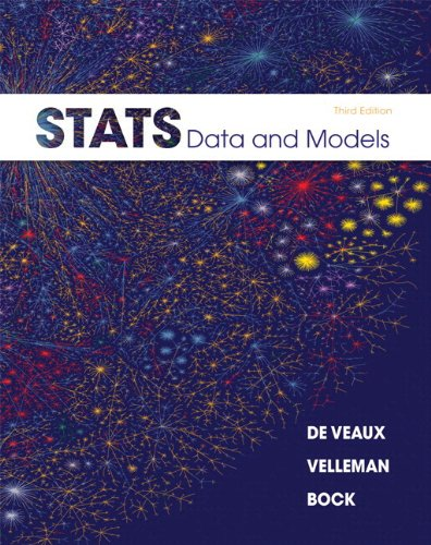 Stats: Data and Models Plus MyLab Statistics with Pearson eText -- Access Card Package (3rd Edition)