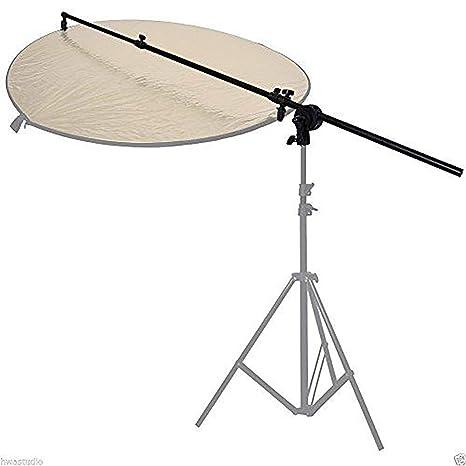 BA02D 75-135cm Lighting Holding Boom Arm tripod Sandbag Telescopic /& Lock Nut
