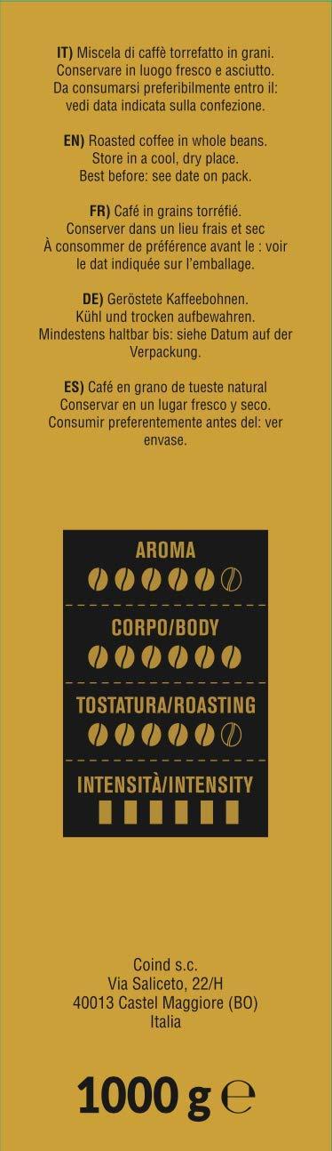 Consuelo Gran Crema - Café en grano italiano - 1 kg: Amazon.es: Alimentación y bebidas