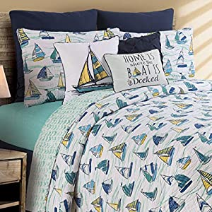 616jj7A5FML._SS300_ Coastal Bedding Sets & Beach Bedding Sets