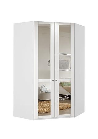 Eckschrank, Eckkleiderschrank, Kleiderschrank, Spiegeltüren, Wäscheschrank,  Landhausstil, Schlafzimmerschrank, Schranksystem,