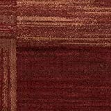 Momeni Rugs DREAMDR-01RED5376 Dream Collection, Contemporary Area Rug, 5'3