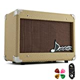 Donner 15W AMP Acoustic Guitar Amplifier Kit DGA-1 G with 10 Feet Guitar Cable
