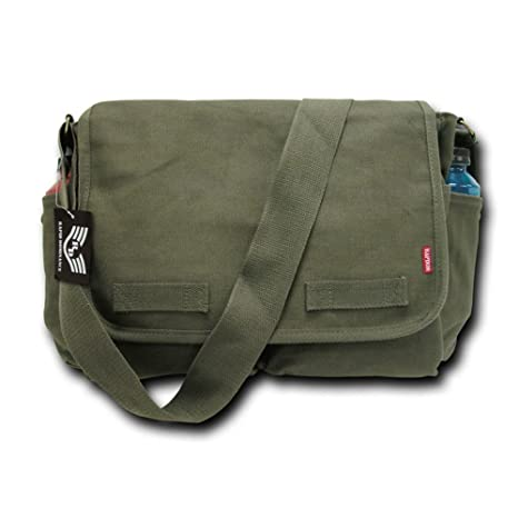 Amazon.com  Classic Military Messenger Bags d18d1d56f71