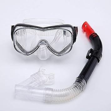 GLHLPR Mascara de Buceo Traje de Snorkel Snorkel ...