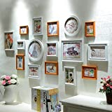 LQQGXL European style photo wall creative living room photo frame wall decoration multi-screen combination Photo frame ( Color : B )