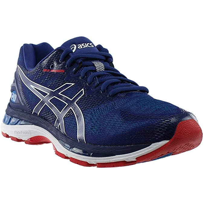 ASICS Gel Nimbus 20 Men's Running Shoe, Blue PrintRace Blue