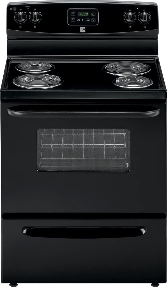 Kenmore 93009 Electric Range in Black, includes delivery and hookup (Available in select cities only)