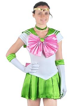 CoolChange Traje Cosplay de Sailor Jupiter de la Serie ...