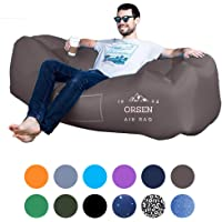 $29 » ORSEN Inflatable Lounger Portable Hammock Air Sofa with Water Proof,Anti-Air Leaking…