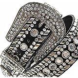 Luxury Divas Rhinestone Studded Belt