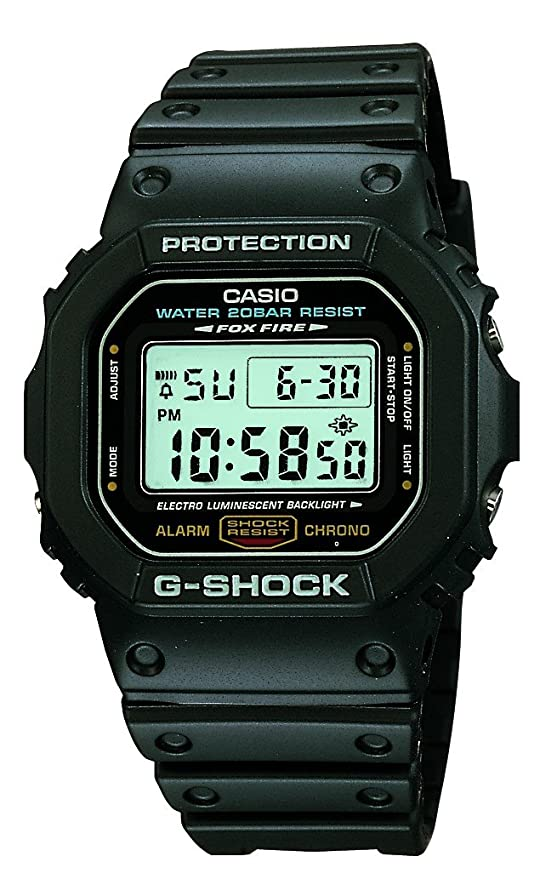 fe79849ee43 Buy Casio G-Shock Digital Grey Dial Men s Watch - DW-5600E-1VQ (G001)  Online at Low Prices in India - Amazon.in