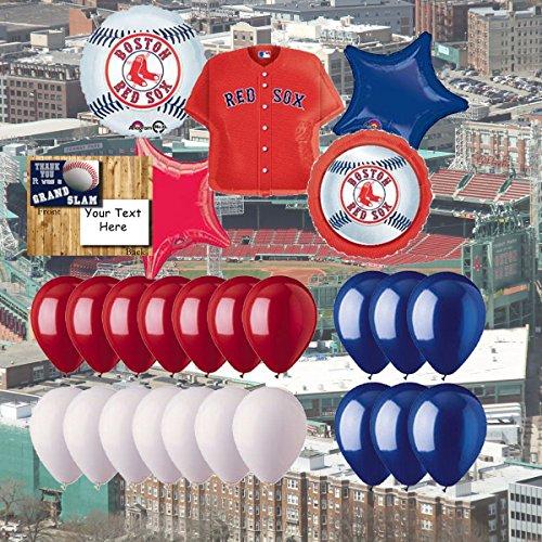 Anagram Boston Red Sox 25 Piece Balloon Set
