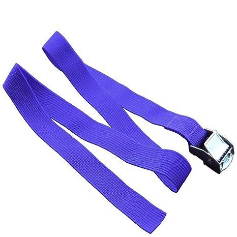 Hacloser Cinturón de amarre con hebilla, correa de carga para ...
