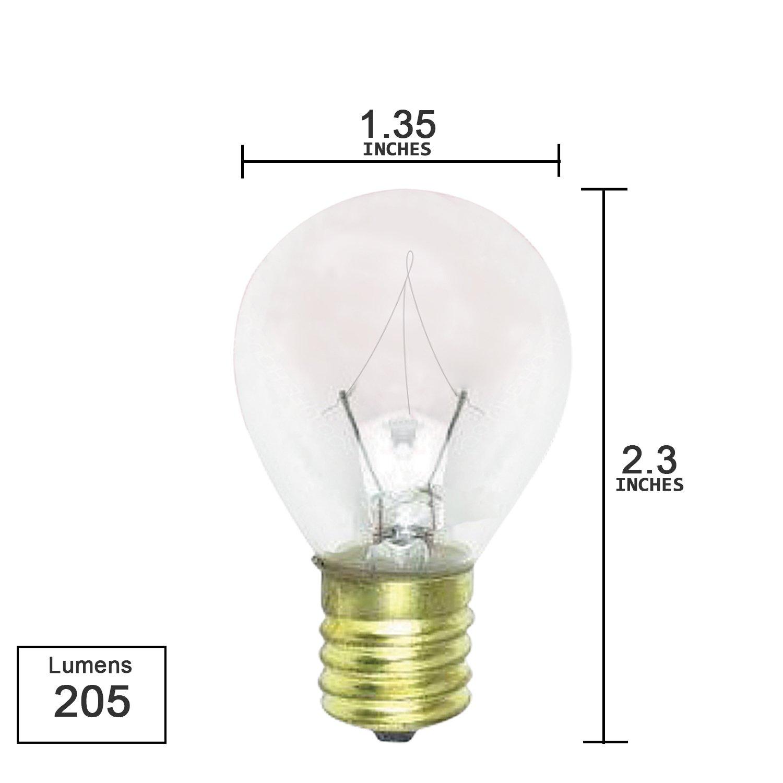 Lava lamp near me -  10 Pack 25s11 N 25 Watt E17 Intermediate Base Hi Intensity Light Bulbs Clear Incandescent Bulbs Amazon Com