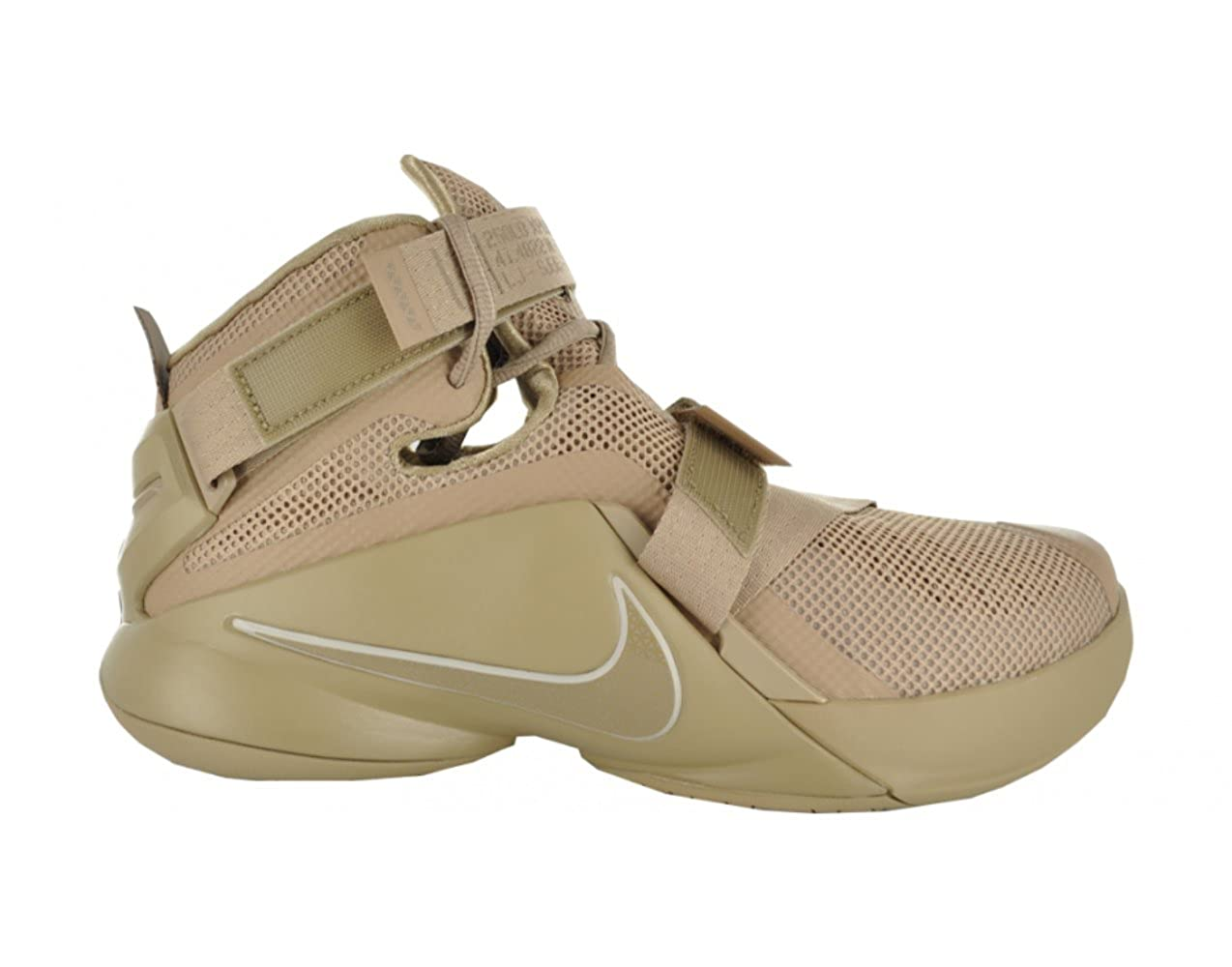 Nike Lebron Soldier IX PRM Limited Edition 749490-222 Desert camo Military  Size 9. 5  Amazon.in  Shoes   Handbags 48fa14cfe79e