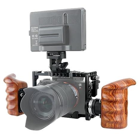 NICEYRIG Kit de Jaula Cage para cámara con Soporte Arri estándar ...