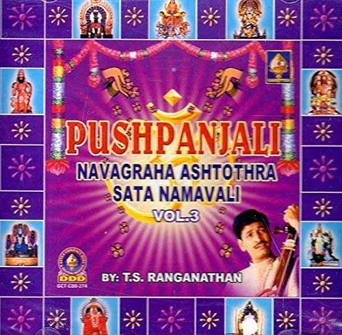 Pushtanjali Navagraha Ashtothra Sata Namavali Vol-3 (Audio CD)