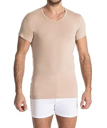 826785c0147f30 FINN Business Herren Unterhemd Kurzarm mit V-Ausschnitt Micro-Faser   Amazon.de  Bekleidung