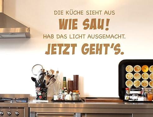 I-love-Wandtattoo 12006 Wandtattoo Küchen Spruch \