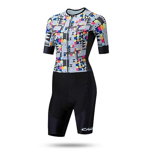 DorisAA-Sports Mujeres Ciclismo Traje Traje de triatlón for Mujer ...
