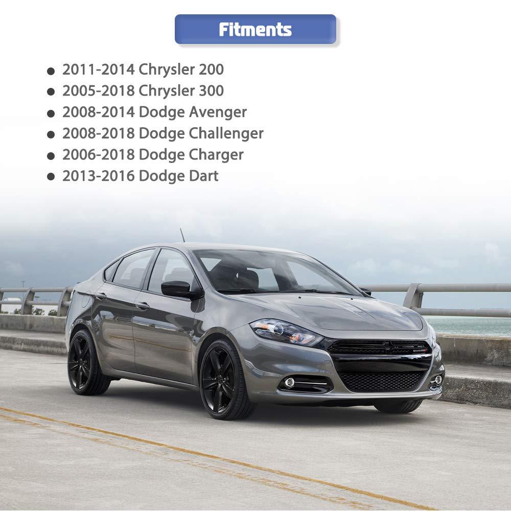 2016 Dodge Avenger >> Door Lock Actuator Integrated With Latch For Chrysler 200 300 Dodge Avenger Challenger Charger Dart Replace 5056244aa 5056244ab 5056244ac 931 714