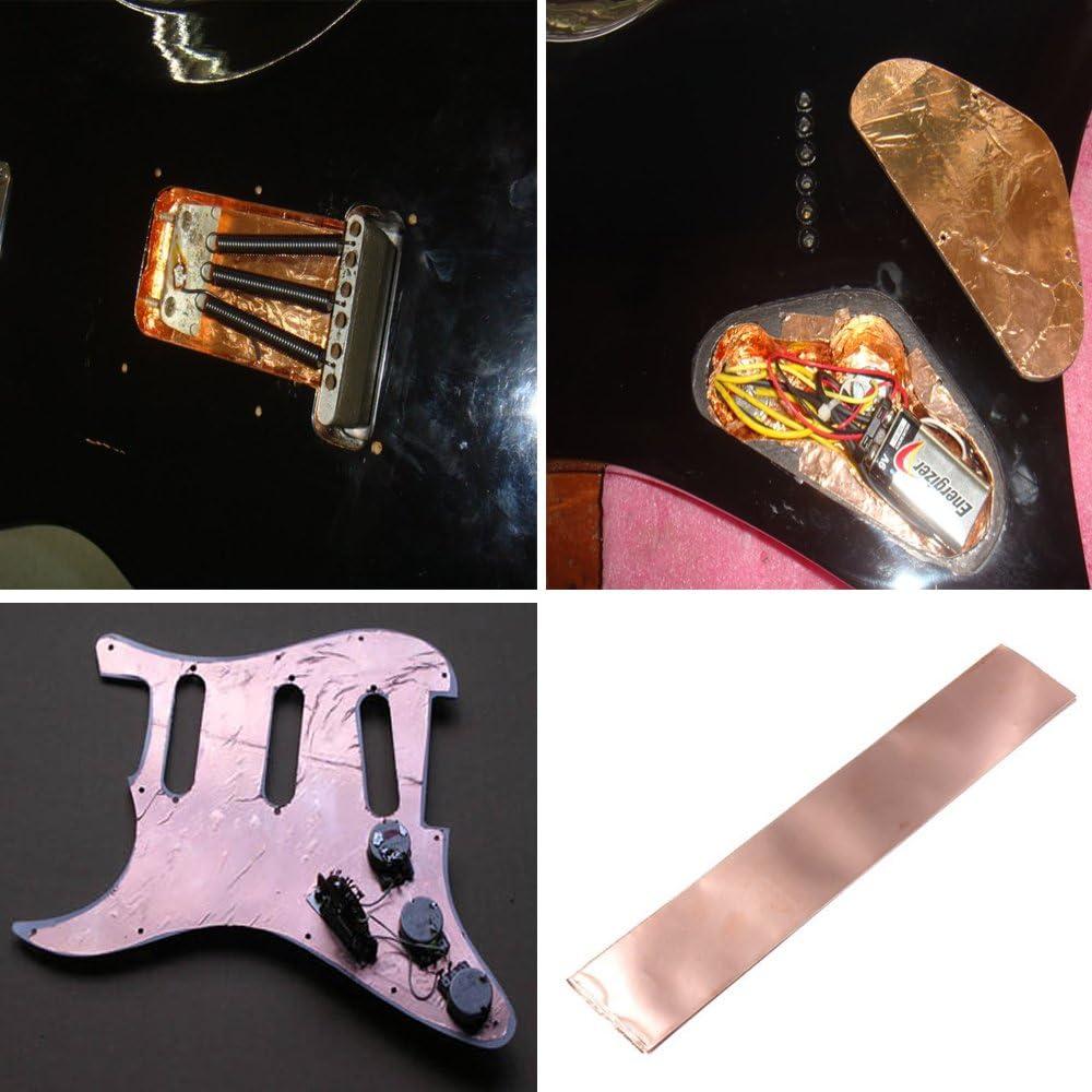 Cinta Creanoso lámina de cobre Blindaje para guitarras - conductor ...