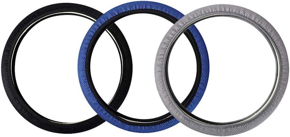 Car Steering Wheel Cover Universal 15 inch Breathable Fabric Anti Slip Auto Steering Wheel Covers