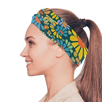 Headwear Funny Jokes Sweatband Elastic Turban Sport Headband Outdoor Head Wrap