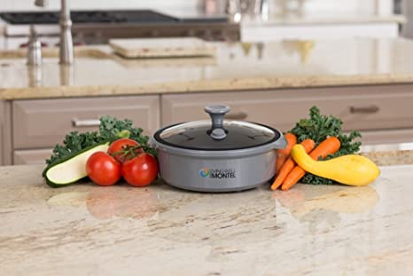 Amazon.com: Vivir Bien con Montel mwmg01 Microondas Grill ...