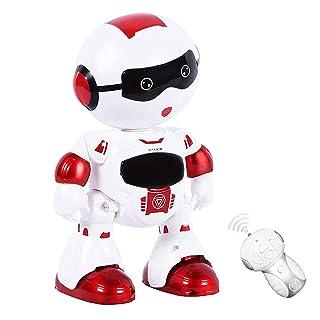 LSQR Elettrico remoto Touch Sensing Smart Robot Giocattolo, Istruzione precoce accompagnamento Bambini Macchina di apprendimento, Maschio e Femmina Divertente Robot