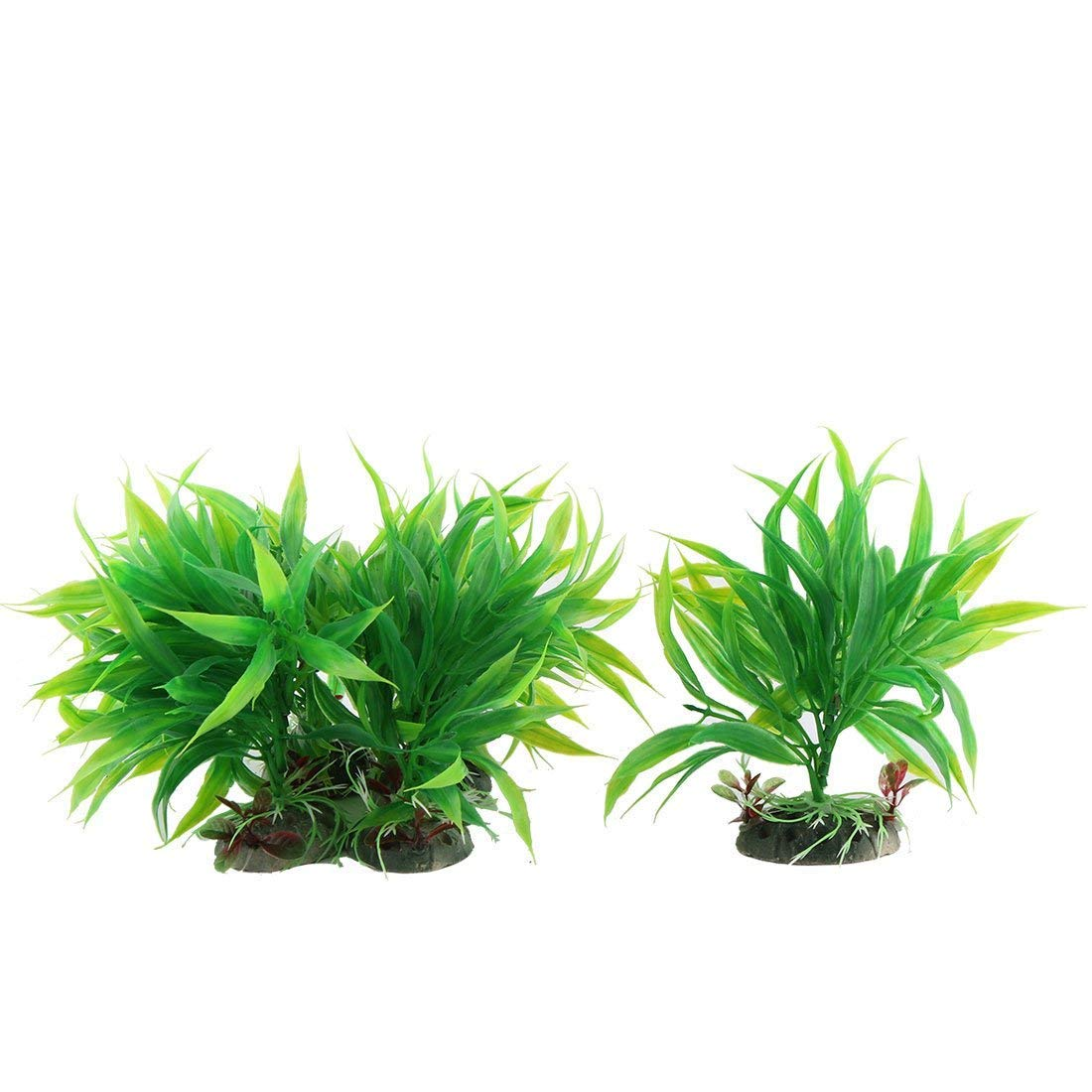 1Pc Aquarium Artificial Water Grass Plants Decor 10cm Height 10 in 1