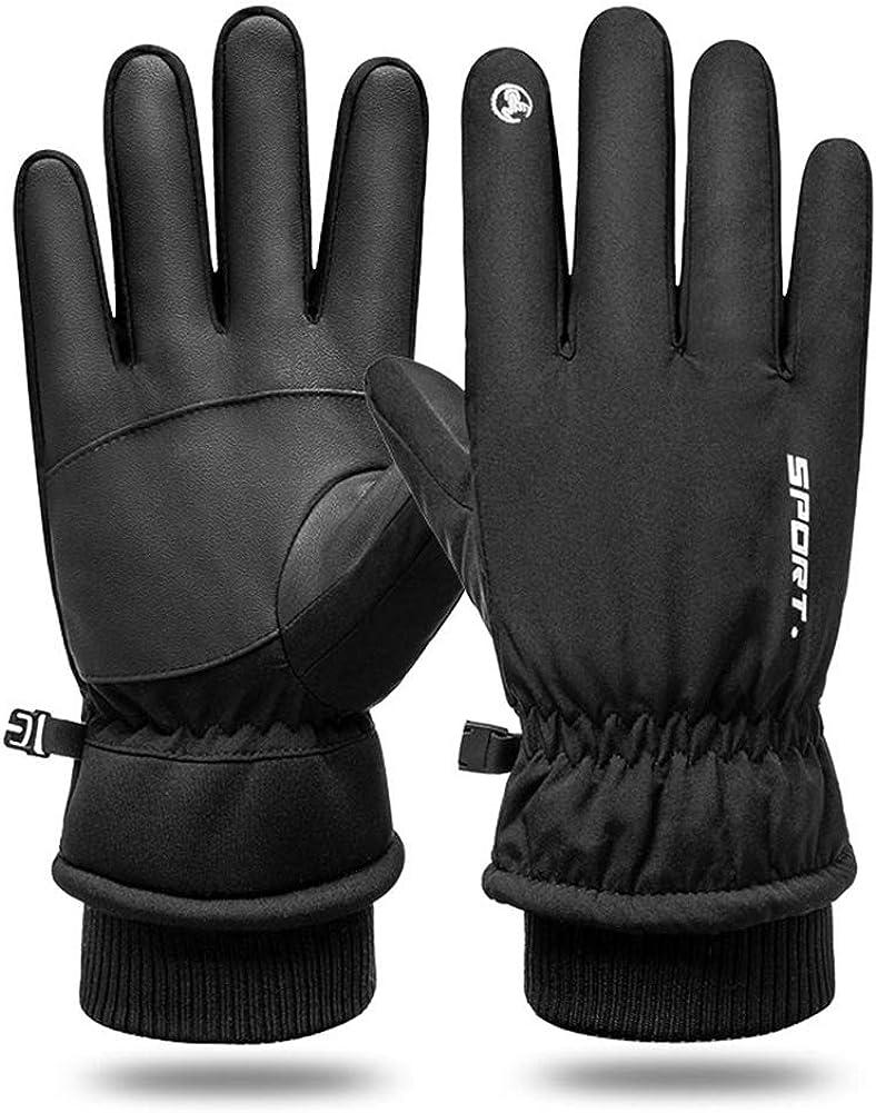Kids Winter Gloves Easy-On Sherpa Lined Fleece Mittens for Winter Warm Gloves 5~12Y