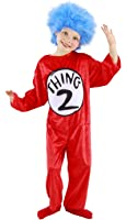 Dr. Seuss Thing 1 and 2 Kid's Costume (XS, 2T-4T) by elope