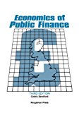 Economics of Public Finance: An Economic Analysis of Government Expenditure and Revenue in the United Kingdom (Pergamon international library of science, technology, engineering, and social studies)