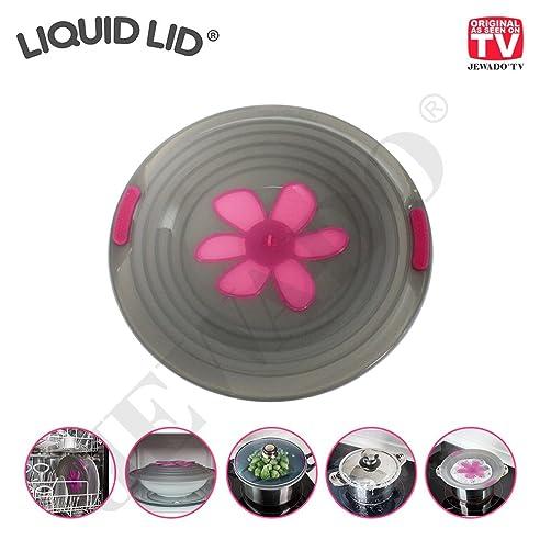 Liquid Lid® Überkochschutz Deckel   Original Aus TV Werbung