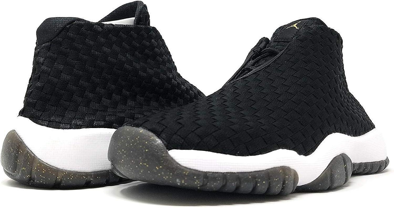 Nike Kids Air Jordan Future Sneaker BG 5.5 Big Kid, Black//Black-White