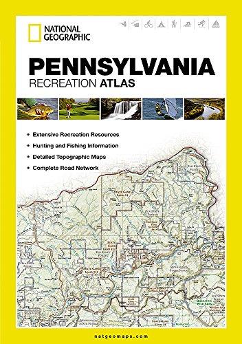 Pennsylvania Recreation Atlas (National Geographic Recreation Atlas) -