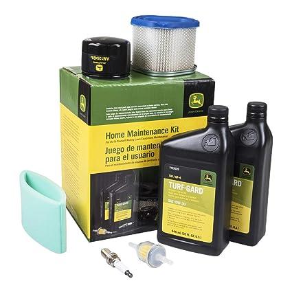 Amazon.com: John Deere lg240 Kit de filtros: Jardín y Exteriores