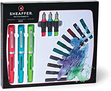 Bic 73404AST Pens Sheaffer Calligraphy Maxi Kit (SH/73404)