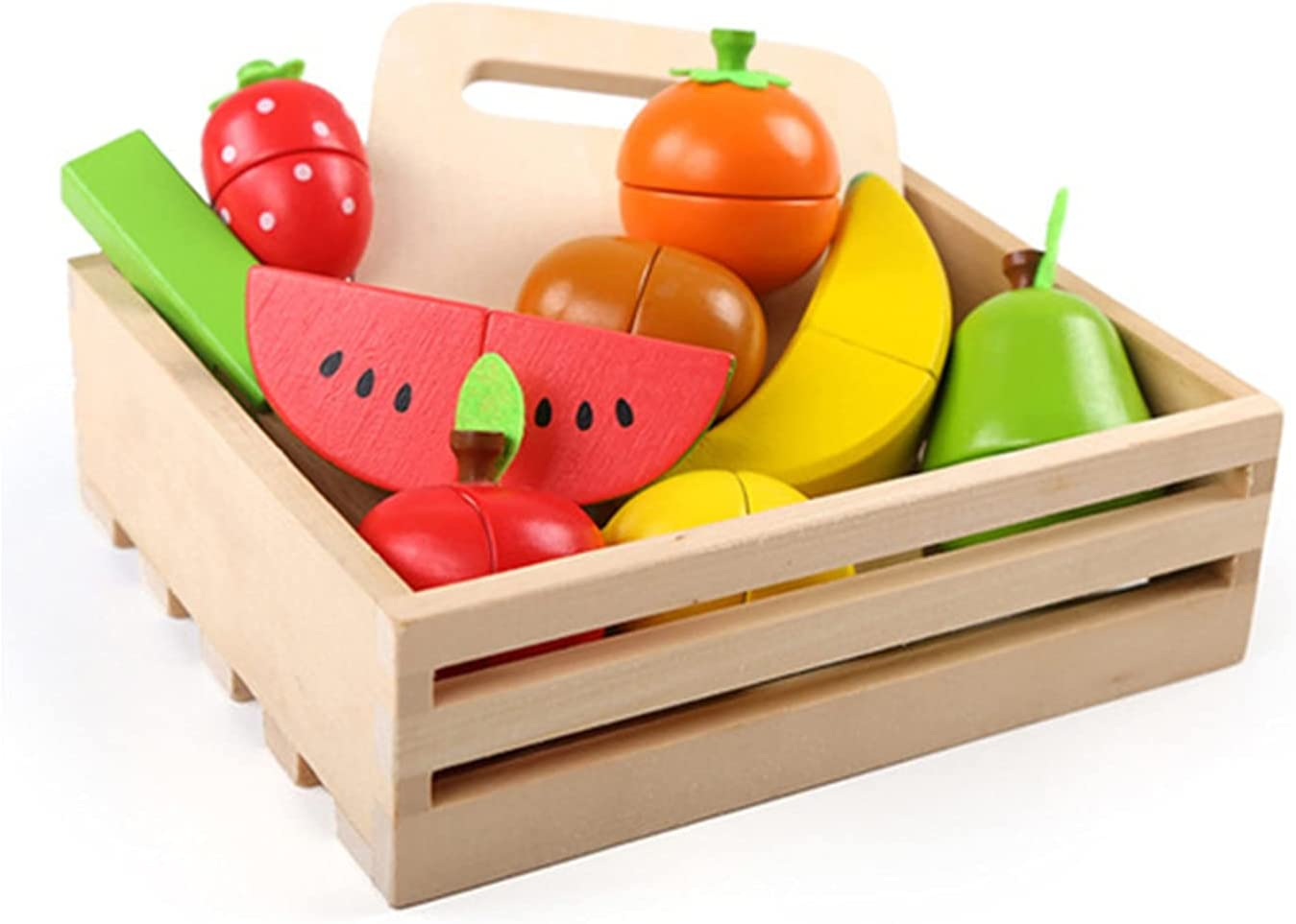 Food Toys, Pretend to Be Cut Into Toy Food, Which is Very Suitable for Holiday Toy Gifts, and Easter Stuffed Gifts. Come On, Let Your Little Chef Cook, Serve and Clean Up Immediately.